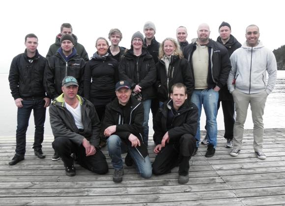 1* 2012 Elever och instruktörer Granvik